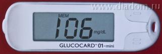 Глюкокард 01-Мини